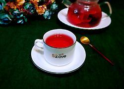 洛神花玫瑰茶