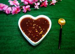桂花紫米粥