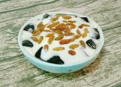 酸奶仙草冻