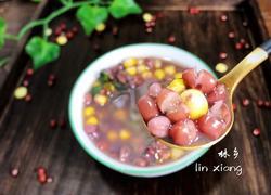 玉米红豆汤