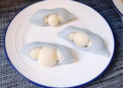 治愈系美食之一:豌豆荚馒头