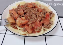 番茄牛肉烩意粉