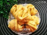 红薯粗粮蒸花卷的做法[图]