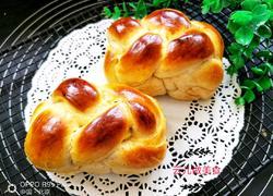 红枣辫子小吐司面包