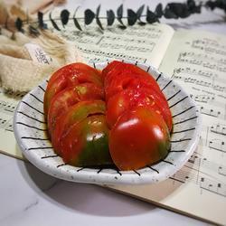 厨房小白的福音—夏季快手菜酱汁番茄的做法[图]