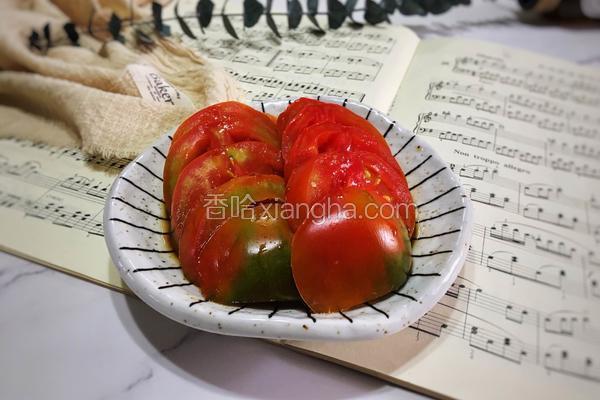 厨房小白的福音—夏季快手菜酱汁番茄