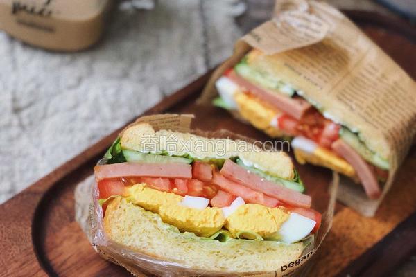 十分钟搞定快手三明治?