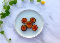 蒜蓉辣酱烤香菇
