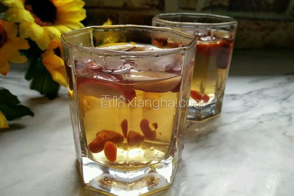 红枣枸杞养生茶