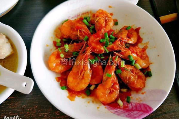 油焖大虾(酸甜口味)