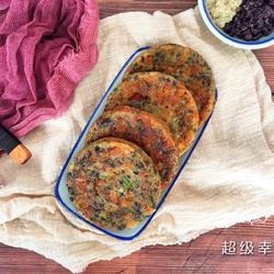 虾米藜麦杂粮鸡蛋饼