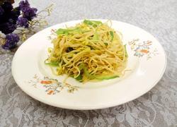 清炒青椒黄豆芽