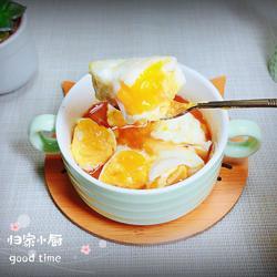 蜜汁香油蒸蛋(润肺止咳)