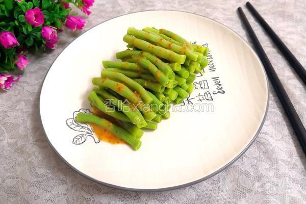 芝麻沙拉酱长豆