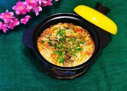 金针菇番茄牛肉煲