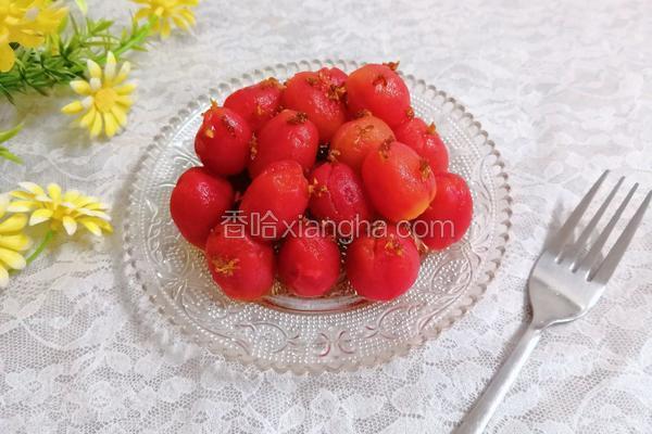 桂花蜜淋小番茄