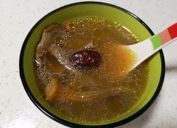 茶树菇姬松茸煲鸡汤