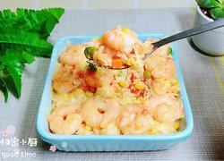 快手茄汁虾仁焗饭