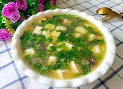 皮蛋豆腐汤