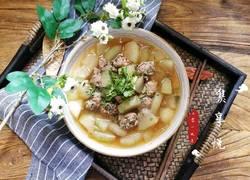 冬瓜香菜肉丸汤
