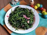 清炒红苋菜的做法[图]