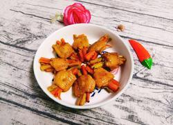 胡萝卜苦瓜酿鸡翅