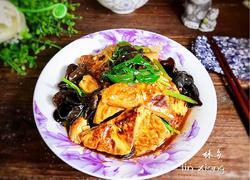 木耳芹菜烧豆腐