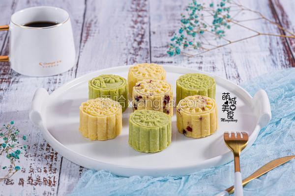 清凉绿豆糕