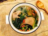 菠菜猪肝汤的做法[图]