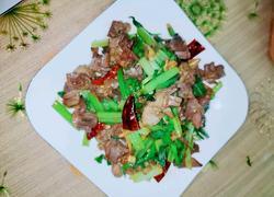 鸡杂炒芹菜