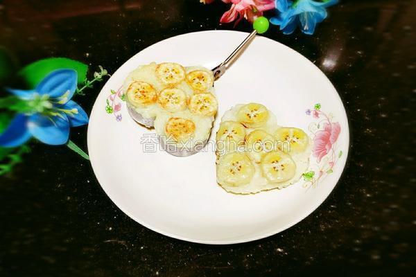 香蕉牛奶米饭煎饼