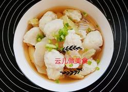秋季养生鲷鱼丸子汤