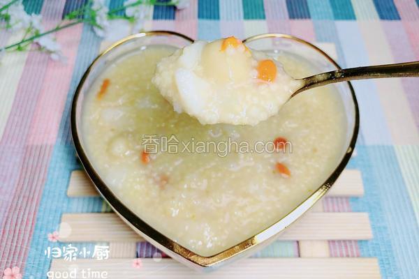 白果山药小米粥 | 滋补健脾