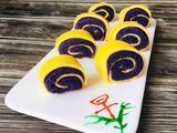 紫薯鸡蛋卷的做法[图]