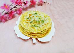饺子皮葱花饼(快手早餐)