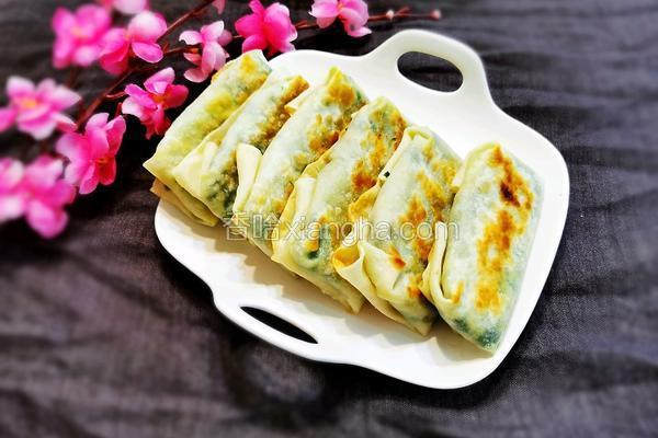 春饼韭菜盒子
