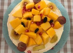 8寸戚风水果蛋糕