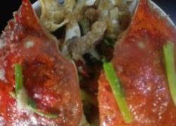 咸蛋黄梭子蟹