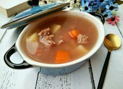 胡萝卜土牛肉汤豆