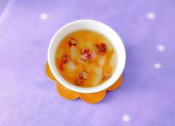 蜂蜜雪梨玫瑰花茶