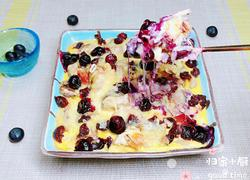 蓝莓燕麦芝士布丁