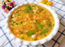 虾仁丝瓜菌菇汤