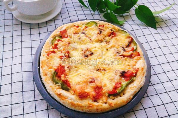 培根香肠披萨