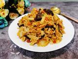 腊肠香菇土豆焖饭的做法[图]