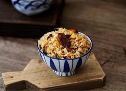 板栗香菇腊肠焖饭
