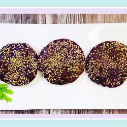 紫薯芝麻餅的做法[圖]