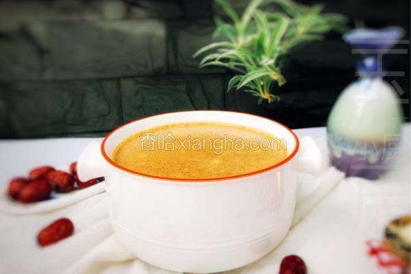 自制红枣酸奶