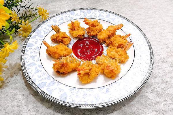 酥脆凤尾虾