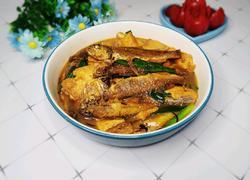 小黄鱼烧豆腐