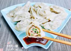 韭菜苔三鲜水饺